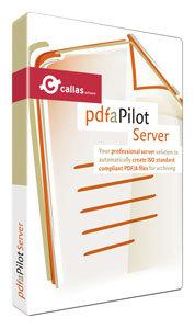 callas pdfaPilot Server boxshot