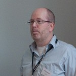 Anthony Lærdahl, Riksarkivet, Oslo, speaking at PDF/A seminar in Oslo, April 17, 2012