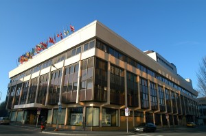 Das EU Publications Office in Luxemburg.