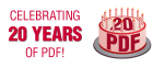 Celebrating 20 years of PDF!