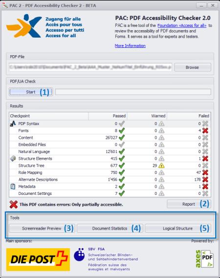 PDF Accessibility Checker 2.0