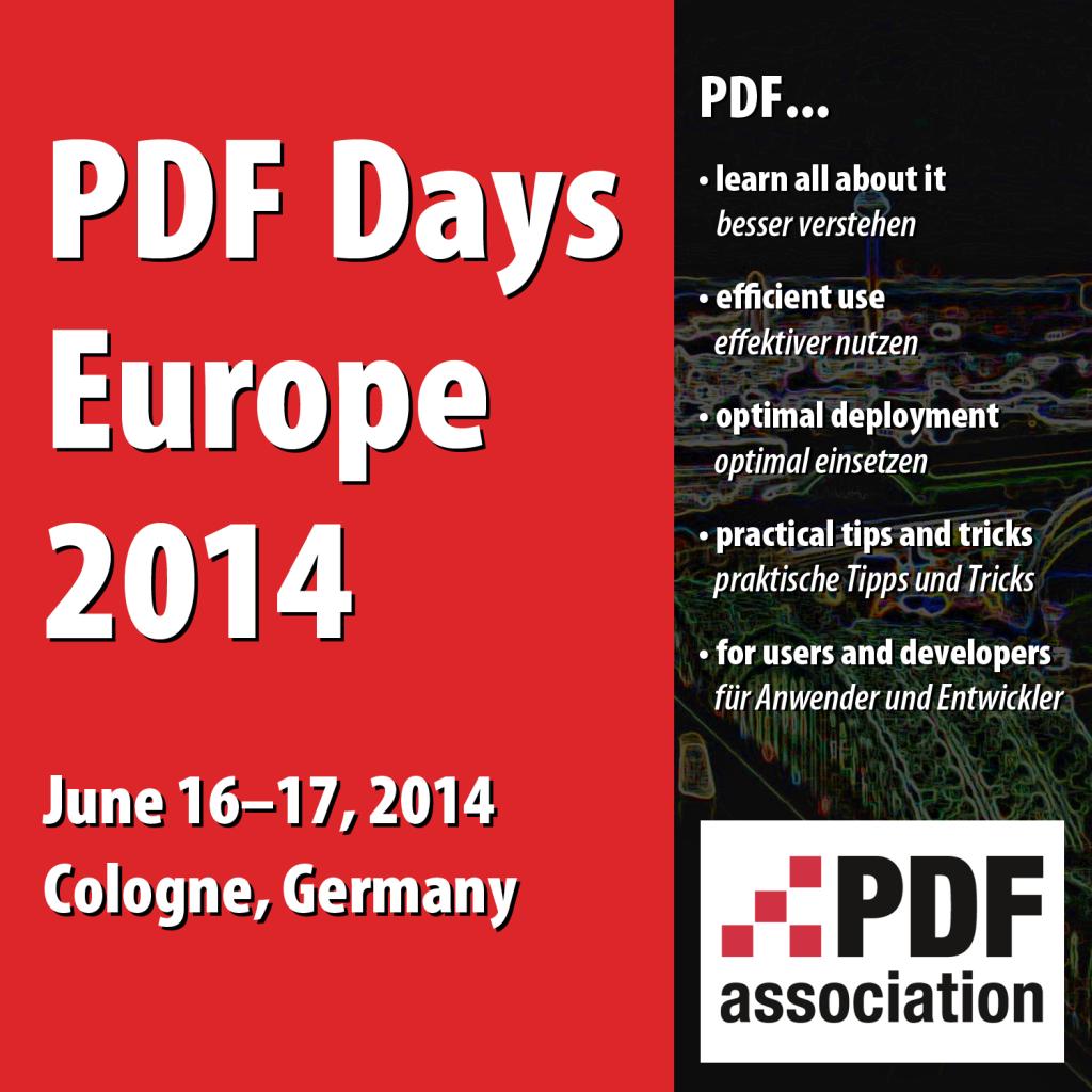 PDF Days Europe 2014