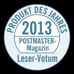 """Das """"Postmaster Magazin"""" kürt jedes Jahr in verschiedenen Kategorien Softwarelösungen zum """"Produkt des Jahres""""."""
