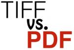 TIFF vs. PDF
