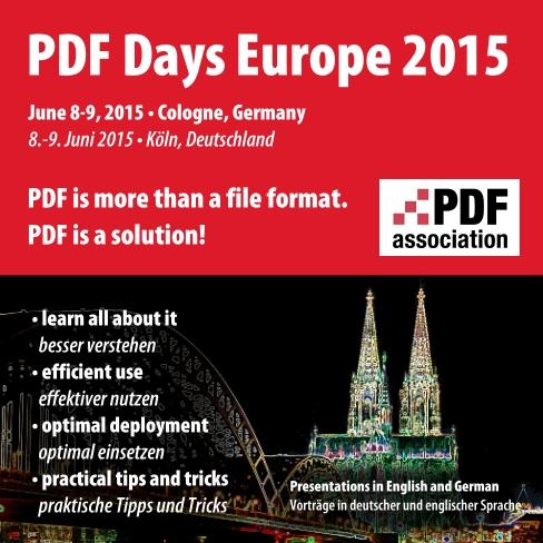 PDF Days Europe 2015