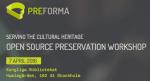 Screenshot of event website.