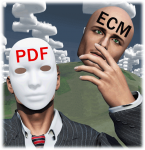PDF behind the ECM mask